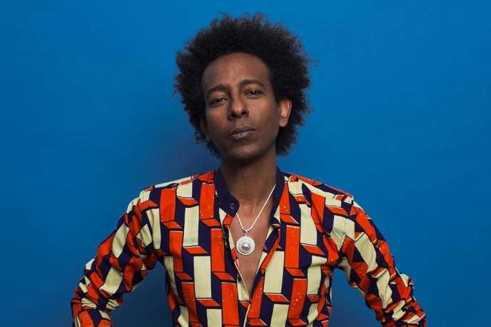 Le chanteur isrélien d'origine éthiopienneGili Yalo.