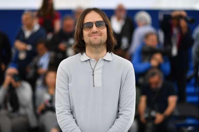 Le cinéaste américain David Robert Mitchell lors du festival de Canne, le 16 mai 2018.