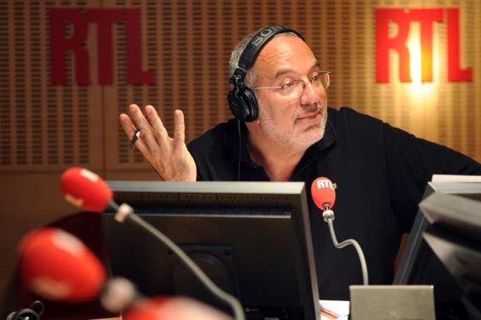 Bernard Poirette en 2010 sur RTL.