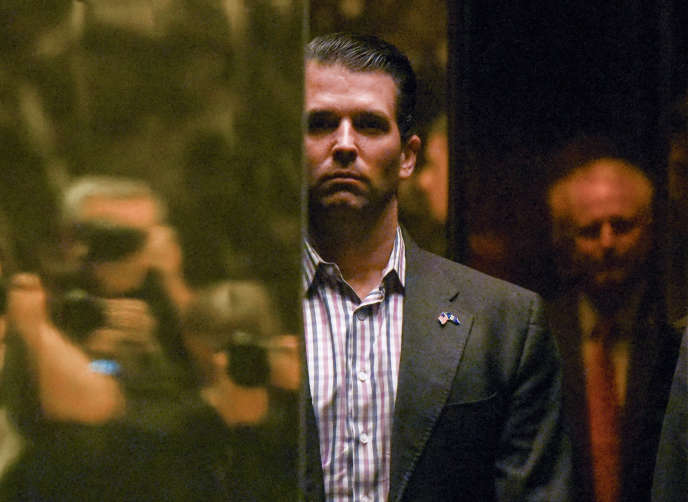 Donald Trump Junior à la Trump Tower, à Manhattan, le 18 janvier 2017.