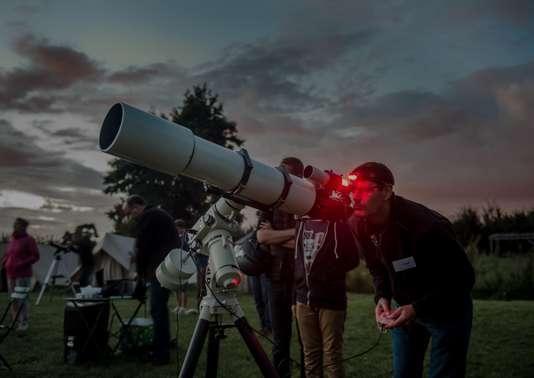 Un passionné d'astronomie de la région lilloise.