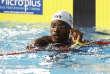 Mehdy Metella après son 100 m aux championnats d'Europe de natation à Glasgow (Ecosse), le 4 août.