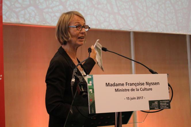 Françoise Nyssen, le 15 juin 2017.