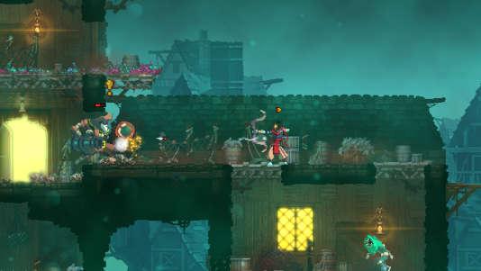 « Dead Cells» propose un «pixel art» très réussi.