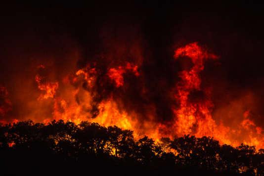 Un millier de pompiers, plus de 340 véhicules, 16 aéronefs étaient engagés mardi 7 août pour éteindre les feux qui menacent la ville touristique de Monchique au Portugal.