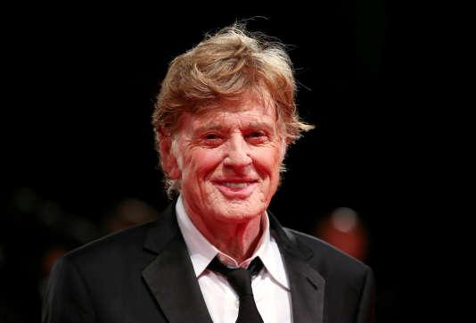 Robert Redford au festival de Venise, le 1erseptembre, où on lui a remis un prix d'honneur pour l'ensemble de sa carrière.