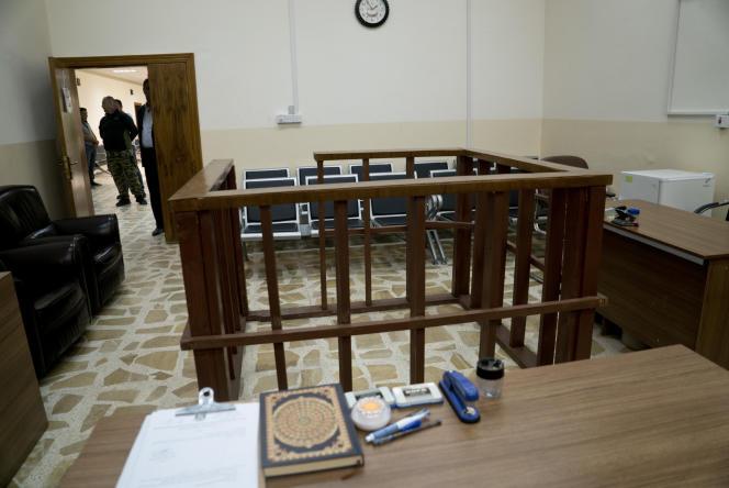 La cour de Tel Keif, en Irak.