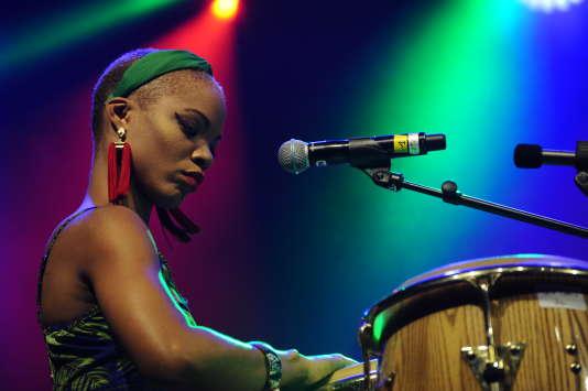 Brenda Navarrete (Kingston meets Havana) au festival Tempo Latino