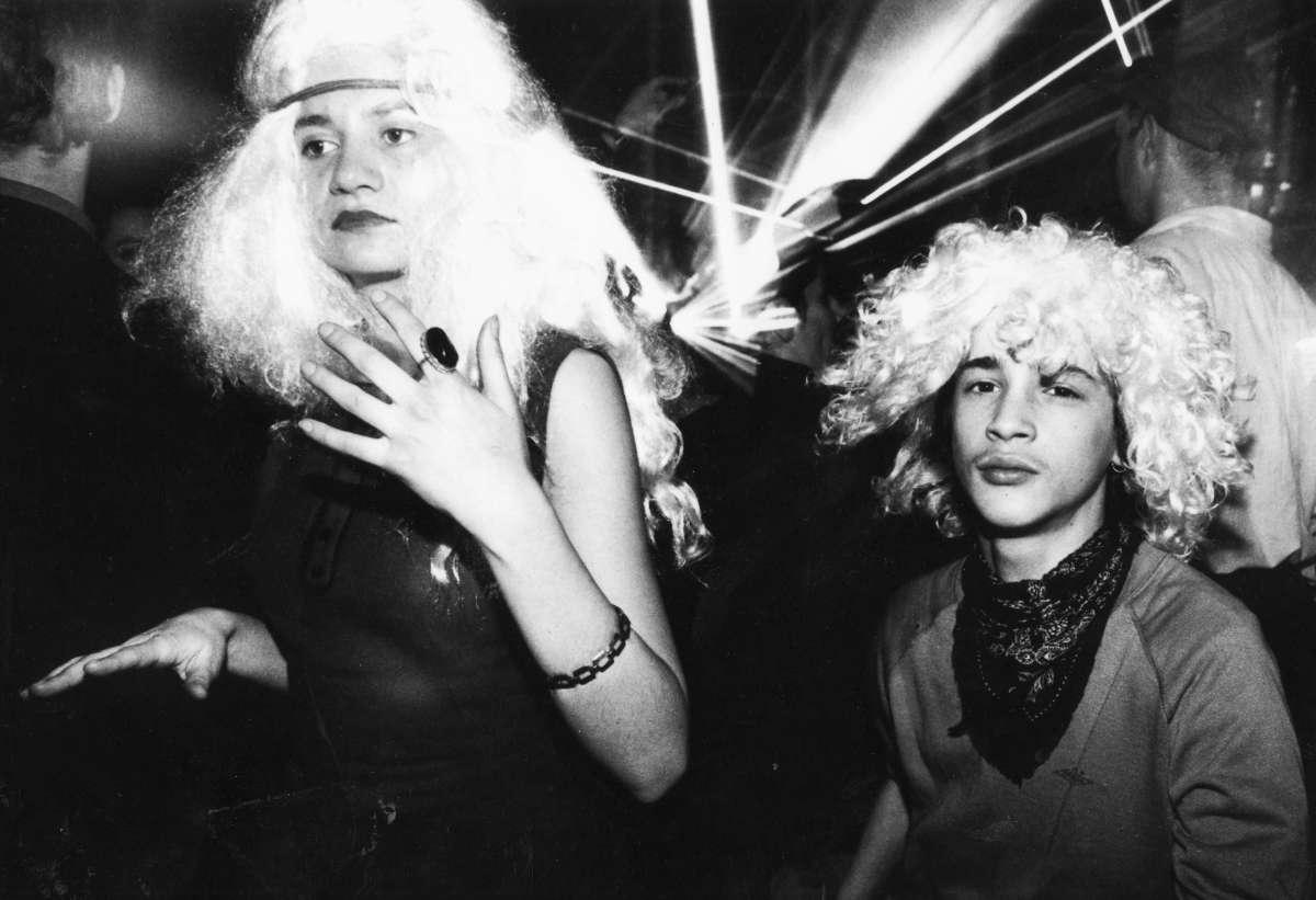 Lors de la «Gagarin Party» de 1992, dans le pavillon Kosmos.