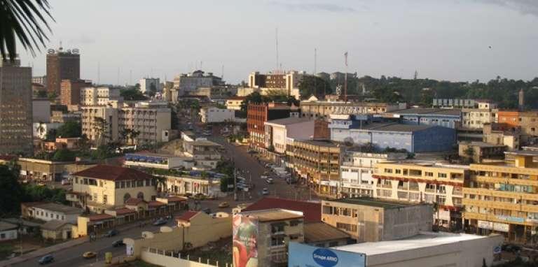 Yaoundé, la capitale du Cameroun, en 2009.