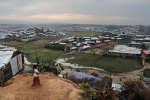 En novembre 2017, une vue de Jamtoli, un camp de réfugiés rohingya, à Ukhiya, au Bangladesh.