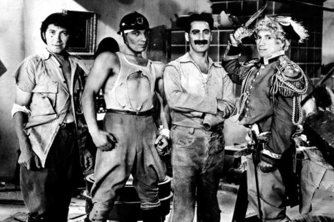 «La Soupe au canard» (1933), un des Marx movies les plus ébouriffants, réalisé par Leo McCarey.