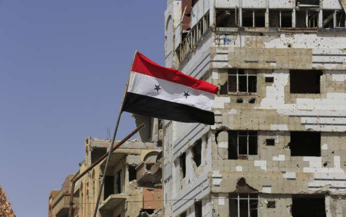 A Douma, près de Damas, le 20 avril.