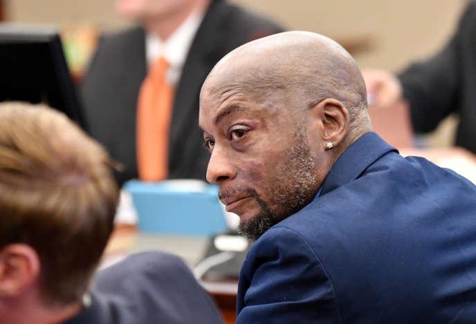 Dewayne Johnson, à l'ouverture du procès, le 9 juillet 2018, à San Francisco.