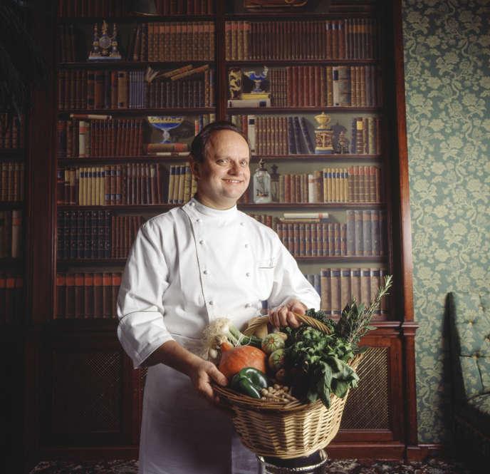 Joël Robuchon, en novembre 1993.