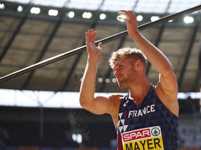 Kevin Mayer a déjà digéré la déception de son échec lors des championnats d'Europe à Berlin.