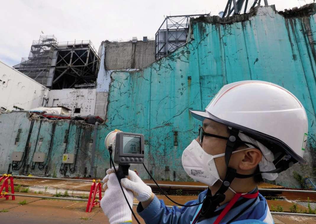 Okuma, ville désormais fantôme où le niveau de radioactivité est 50 fois supérieur aux normes françaises.