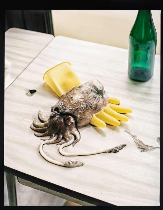 """«Parmi tous les mollusques céphalopodes (poulpe, calamar, nautile), la """"sepia officinalis"""" est, pour moi, le plus fin, le plus élégant et le plus goûtu», explique le chef Pierre Touitou."""