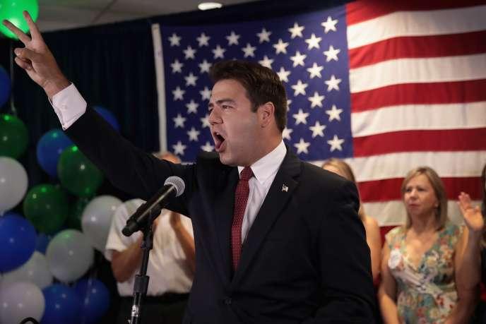Danny O'Connor, candidat démocrate battu de justesse lors de l'élection partielle, a promis de mener à nouveau le combat lors des élections de mi-mandat, en novembre.