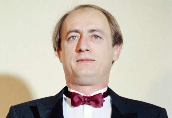 Etienne Chicot, le 7 mai 1989.