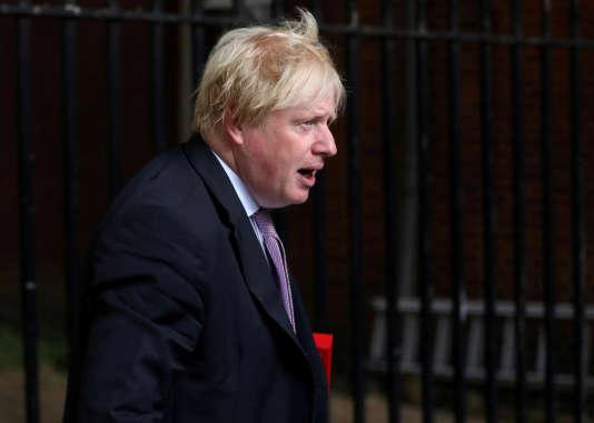 Boris Johnson à Londres, le 3 juillet.
