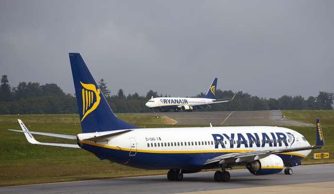 La compagnie a annoncé fin juillet une réduction de sa flotte à Dublin, en réaction aux grèves des pilotes irlandais.