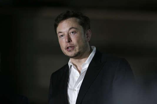 Elon Musk, le PDG de Tesla, à Chicago, le 14 juin.