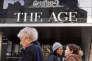 Le siège de «The Age», un quotidien du groupe de presse australienFairfax Media, à Melbourne , le 26 juillet.