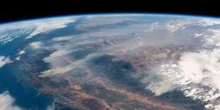 Cette image, prise le 2 août par l'astronaute allemandAlexander Gerst, depuis l'ISS, montre l'un des incendies qui ravagent la Californie.