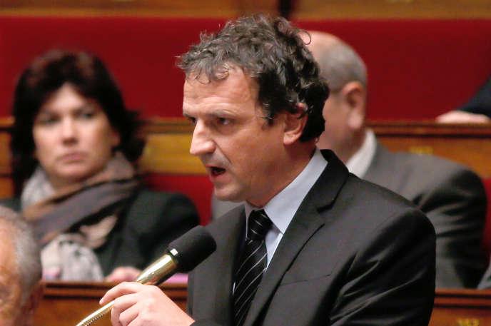 François-Michel Lambert, à l'Assemblée nationale, en 2013.