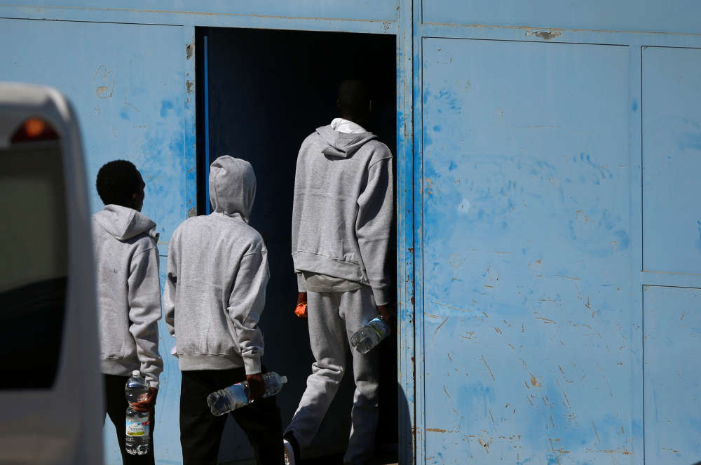 Le Centre d'assistance temporaire aux étrangers à San Roque, le 9 août.