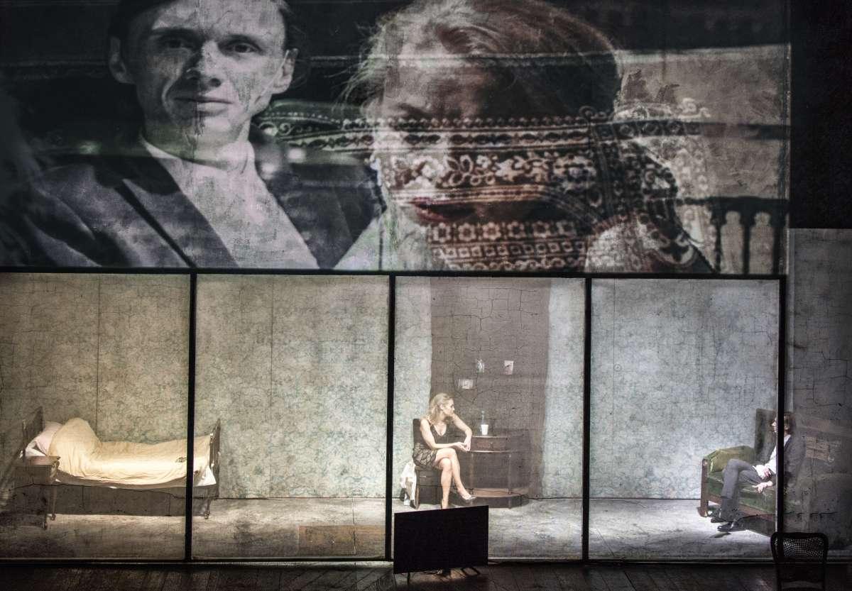 «Le Procès», d'après Kafka, à Varsovie en novembre 2017.