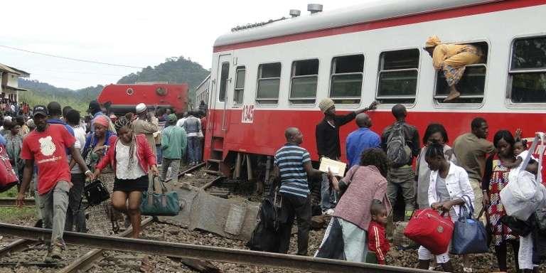 Le 21octobre 2016, un train avait déraillé à Eseka, au Cameroun.