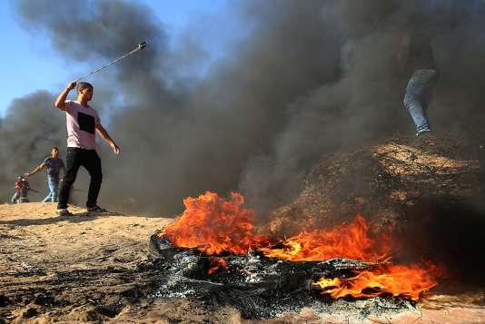Les affrontements entre Palestiniens et soldats israéliens ont repris vendredi 10 août.