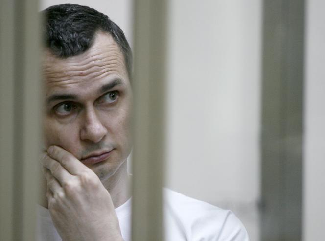 Oleg Sentsov, le 21 juillet 2015 à Rostov-on-Don.
