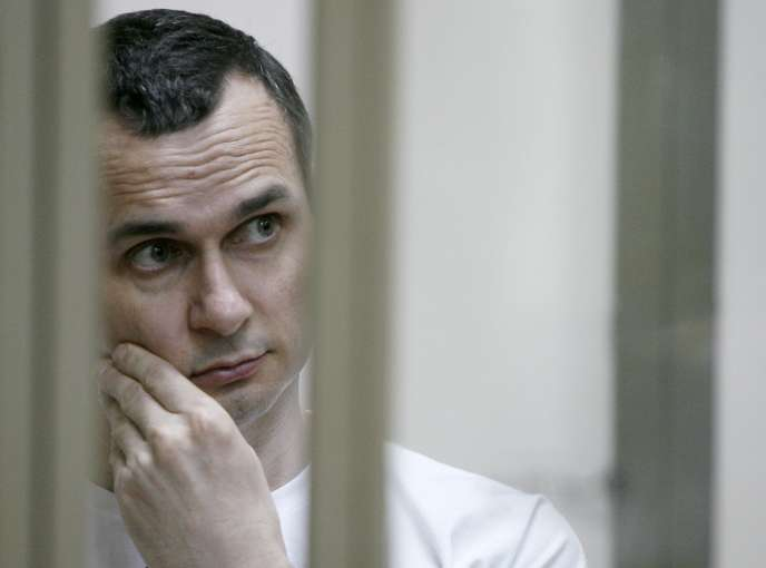Oleg Sentsov, le 21 juillet 2015 à Rostov-on-Don.