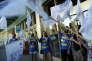 Manifestation de salariés de Ryanair, à Madrid, le 25 juillet.