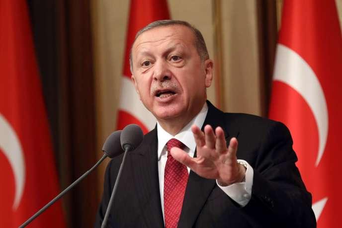 Le président turc, Recep Tayyip Erdogan, le 15 juillet à Ankara.