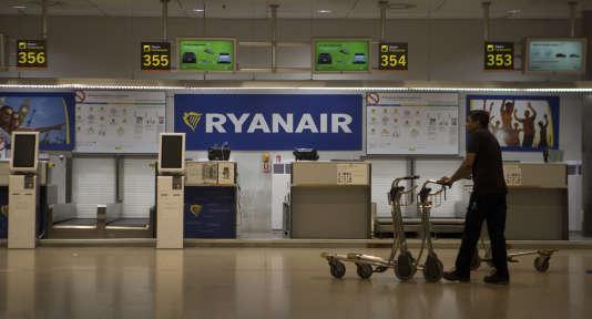 A l'aéroport de Madrid, le 10 août 2018.
