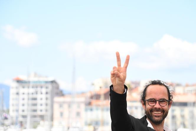Cedric Herrou s'est rendu le 18 mai au Festival de Cannes, à l'occasion de la projection du documentaire « Libre», consacré à son combat en faveur des migrants.