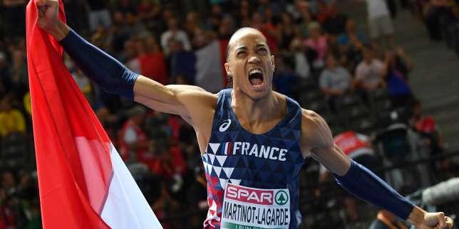 Athlétisme: Pascal Martinot-Lagarde champion d'Europe du 110m haies