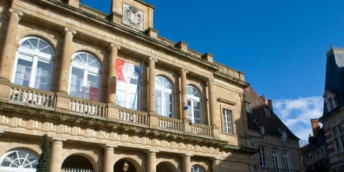 La mairie de Moulins, dans l'Allier, en février 2014.
