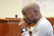 Dewayne Johnson, après l'annonce du jugement contre Monsanto, à la Cour supérieure de Californie, le 10 août.