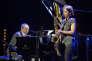 La saxophoniste Sophie Alour en duo avec le pianiste Alain Jean-Marie, à Marciac, le 10 août.