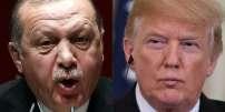 Le chef de l'Etat turque Recep Tayyip Erdogan et le président américin Donald Trump.