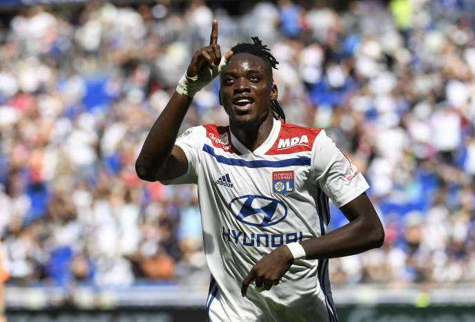 Bertrand Traoré a inscrit le premier but de l'OL, dimanche, contre Amiens.