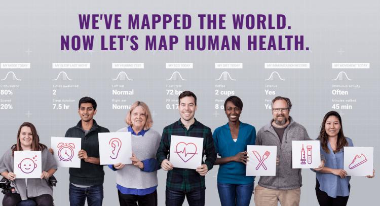 <b>C'est quoi ?</b> Un projet de «cartographie de la santé humaine», visant à collecter les données génétiques et de santé de 10 000 personnes durant quatre ans, pour fournir des pistes dans le traitement de maladies. <br><b>Où en est l'idée ? </b>L'étude clinique a débuté en 2017. Il faudra donc attendre au moins trois ans pour en connaître les premiers résultats.