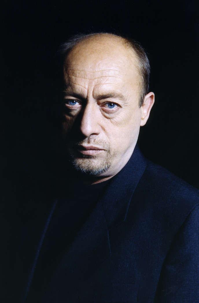 L'acteur francais Etienne Chicot.