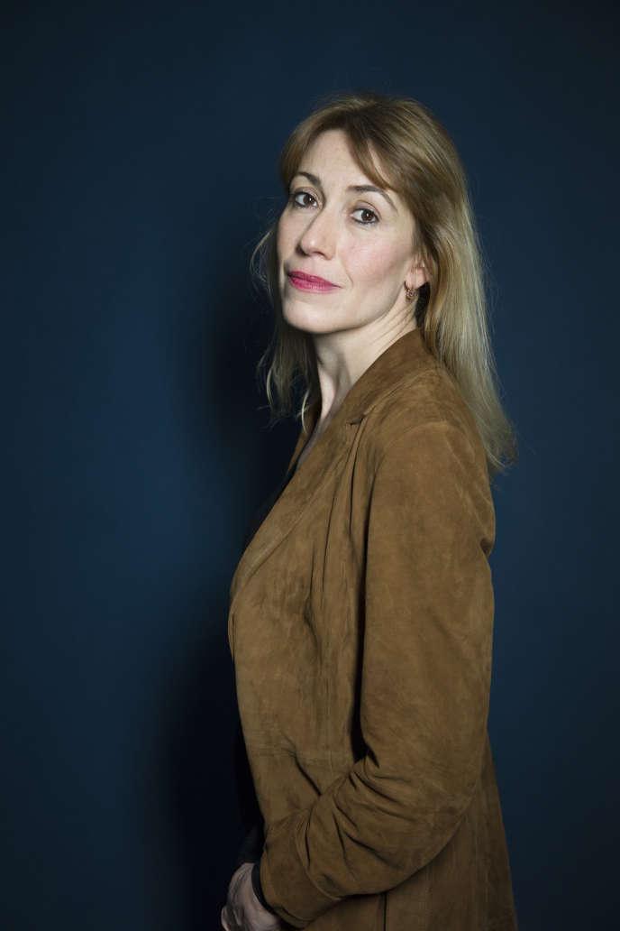 L'écrivaine Gwenaëlle Aubry, en 2018.