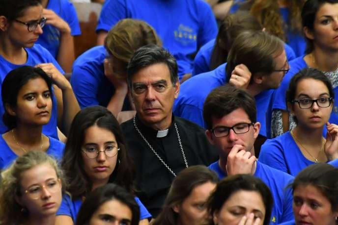L'archevêque de Paris, Michel Aupetit, le 1er août au Vatican.